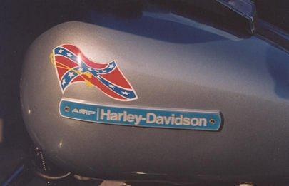 Harleys Rare Confederate Edition Emblem